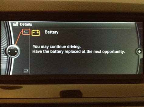 replace battery warning fff   bmw  series owners board