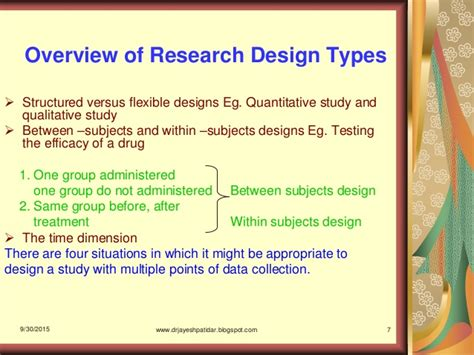 research design powerpoint slides type of research design ppt home design ideas