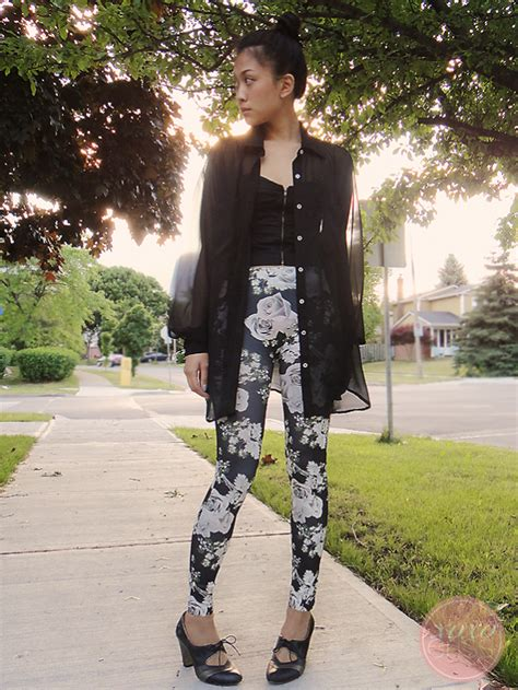 black patterned leggings outfit gallery for gt black and white patterned leggings outfit