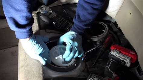 bmw  fuel pump replacement youtube