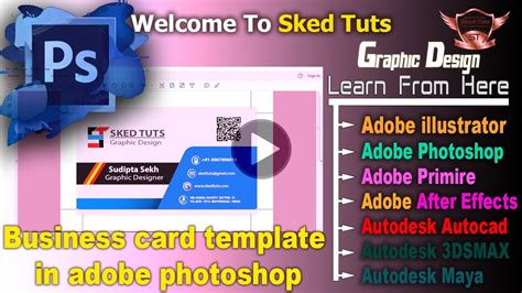business card template for adobe business card template in adobe photoshop part 02