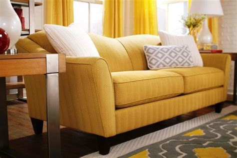 yellow couch cushions optimize the energy in your interior with yellow couch