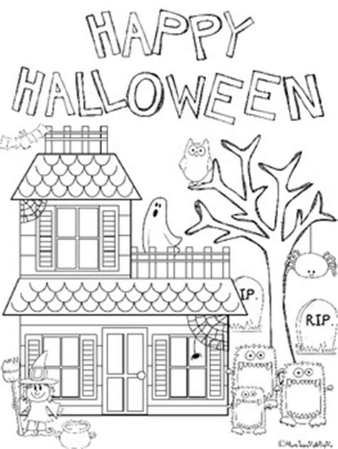 halloween coloring pages for 3rd grade freebie what a cute halloween coloring sheet pk 3rd