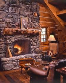 log cabin fireplace rustic fireplace designs