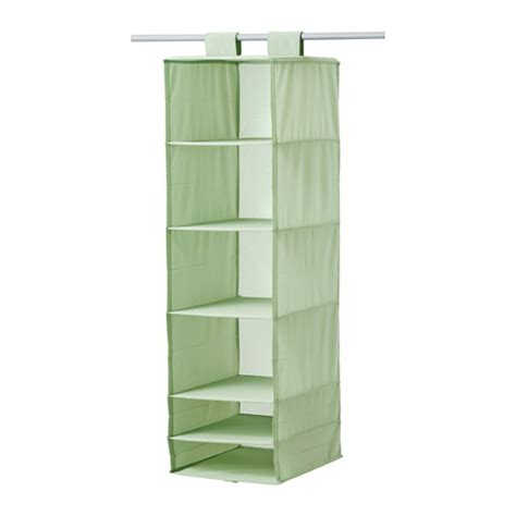 ikea organizer skubb organizer with 6 compartments light green ikea