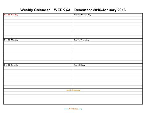 free printable weekly planner for 2016 formatted weekly calendar template weekly calendar template