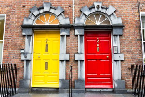 a colorful look behind the doors of dublin huffpost dublin s coloured doors from trend to trademark