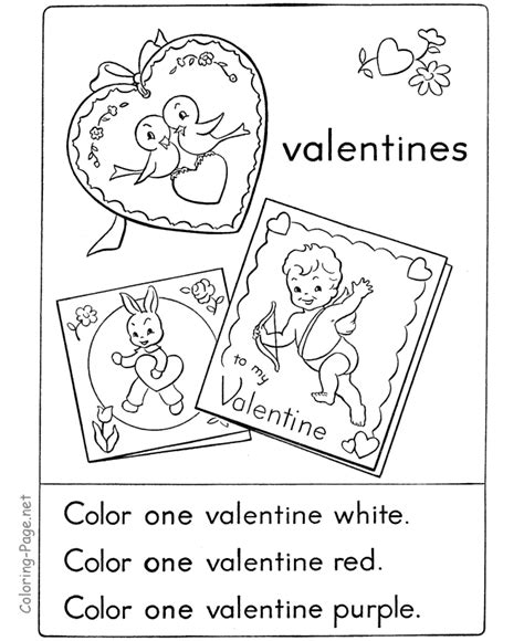 coloring page net valentine valentines flower coloring page 3
