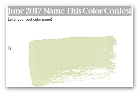 housebeautiful com namethiscolor house beautiful june 2017 name this color contest ends