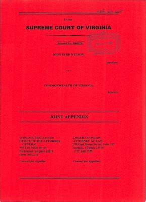 Commonwealth Of Virginia Court Search Virginia Supreme Court Records Volume 268 Virginia Supreme Court Records