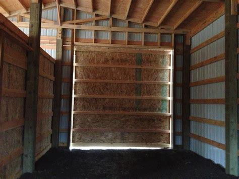 Pole Barn Sliding Door Seal Sliding Doors Pole Barn Sliding Door