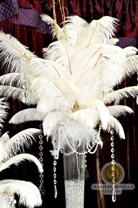 big thing 1970s and feathers on pinterest big and beautiful feather s centerpiece for the great