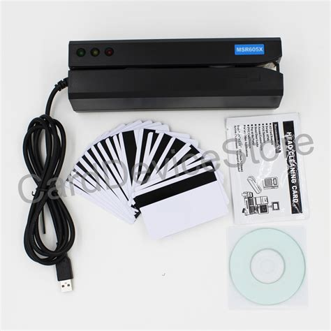 how to make a magnetic card reader msr605x magnetic stripe credit card reader writer encoder