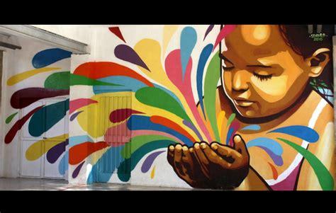 impresionantes murales artisticos pintados en la pared
