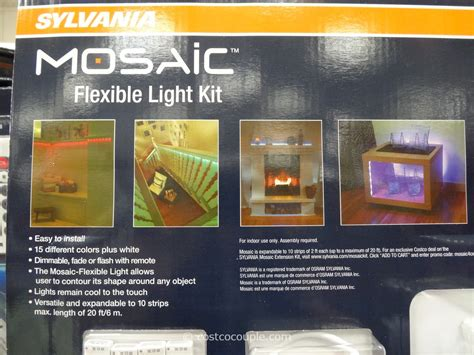 Sylvania Mosaic Led Flexible Light Kit Mosaic Led Light Strips