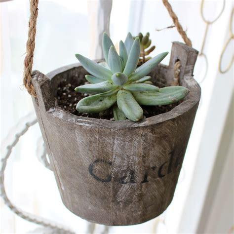 Rustic Flower Pots Planters by Garden Pot Planters Bonsai Wooden Plant Pots For Flower