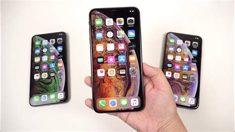 iphone xs max unboxing impressions display quality