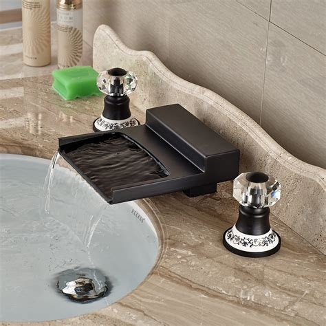 hot water in bathroom sink but not shower yakso dual handle oil rubbed bronze water fall bathroom