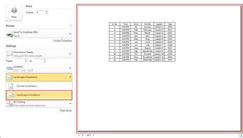 Landscape Orientation Excel Landscape Orientation Definition Excel 28 Images Print