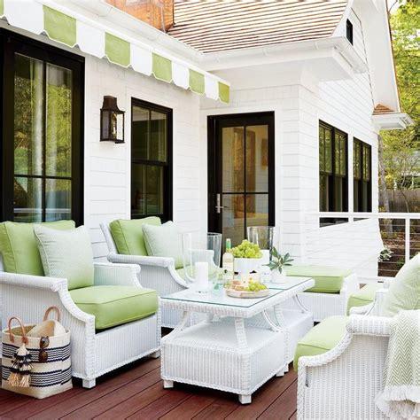 white wicker patio furniture best 25 white wicker ideas on white wicker
