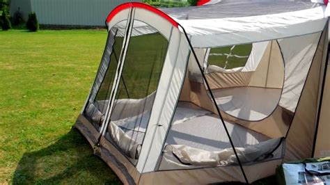 3 room tent with screened porch wenzel klondike tent review part 1 1080p