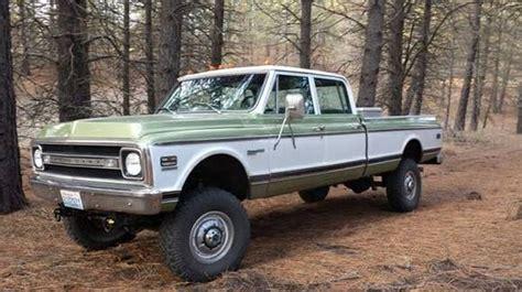 1970 Chevy 4 Door Truck custom built 1970 chevrolet c10 crew cab 4 door bring a