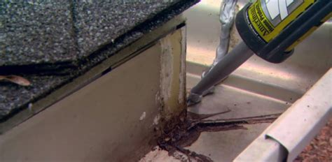 how to repair a leaky gutter a dyi importance of maintaining the gutters on your home today
