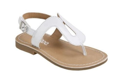White Sandal chic toddler sandals