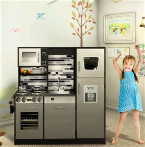 Play Kitchen Set by Quot Stainless Quot Play Kitchen Set Who Said Nothing In