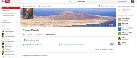 fotos para perfil do youtube youtube como red social eduardo miranda