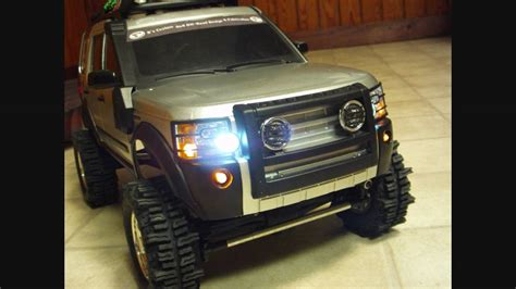 Custom Rc Land Rover Lr3 Build Part 6 Led Madness