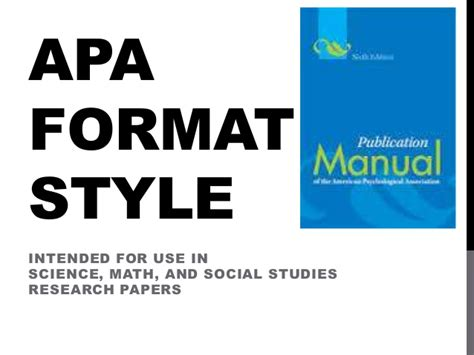 apa format in powerpoint apa format style power point