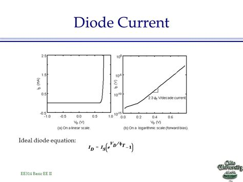 current equation for diode diode current equation 28 images p n junction diodes current flowing through a diode i v
