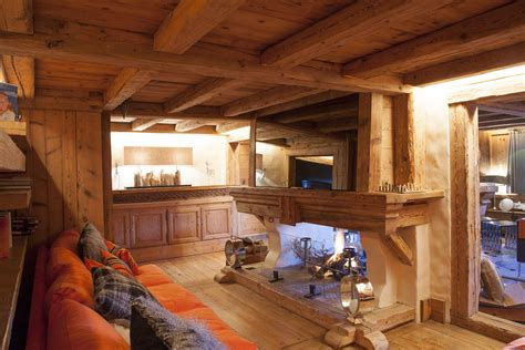 Chalet Bois Interieur by Chalets 224 Meg 232 Ve Architecture Et Styles Design Ou