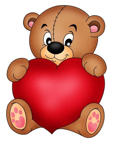 valentines teddy drawing brown teddy with png clipart im 225 genes