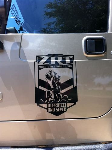 zombie jeep decals product jeep wrangler blackout black bear edition pass