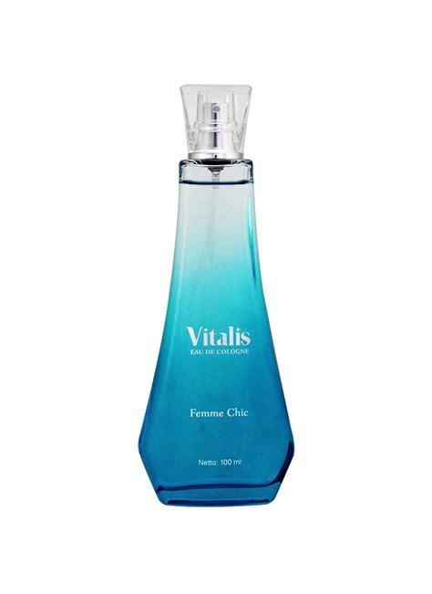 Parfum Vitalis 100ml vitalis eau de cologne femme chic btl 100ml klikindomaret