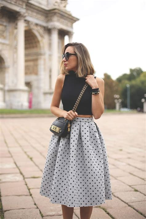 20 styles to pop up your midi skirts pretty designs