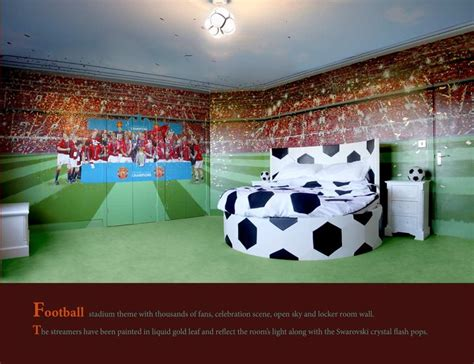 soccer themed bedroom best 25 football themed rooms ideas on pinterest