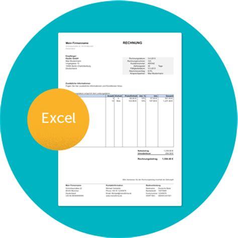 Muster Rechnung Tagesmutter Kostenlose Rechnungsvorlage In Excel Mit Anleitung