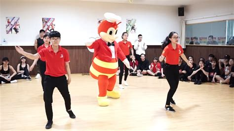 role play contest  jollibee aeonmall binh duong canary youtube