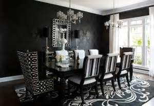 Floating Cabinets Ikea contemporary black and white wallpaper dining room