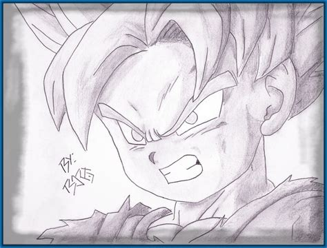 imagenes para dibujar no tan faciles geniales imagenes para dibujar a lapiz de dragon ball z