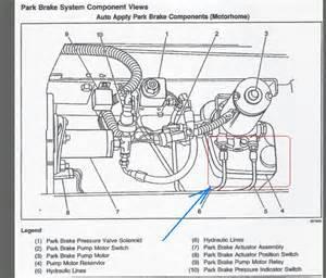 Transmission Fluid Brake System Gm Workhorse Auto Park Brake System Auto Parts Diagrams