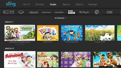Sling Tv Debuts Custom Kids Channel With All On Demand Video