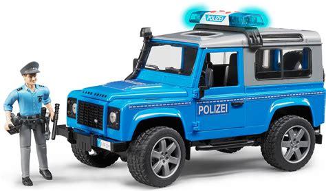 land rover bruder bruder 174 speelgoed politiewagen met licht en geluid 187 land