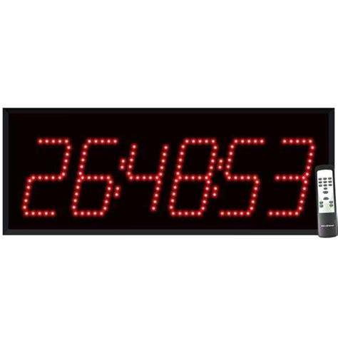 Amazing Church Wall Clocks #7: 6360-6-digit-countdown-timer.jpg