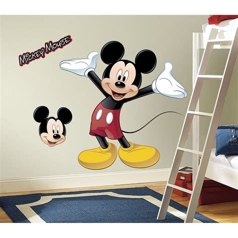 Coklat Stick Mickey Mouse Souvenir mickey mouse peel and stick wall stickers