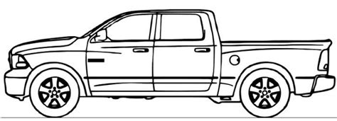 dodge ram truck coloring page coloring pages