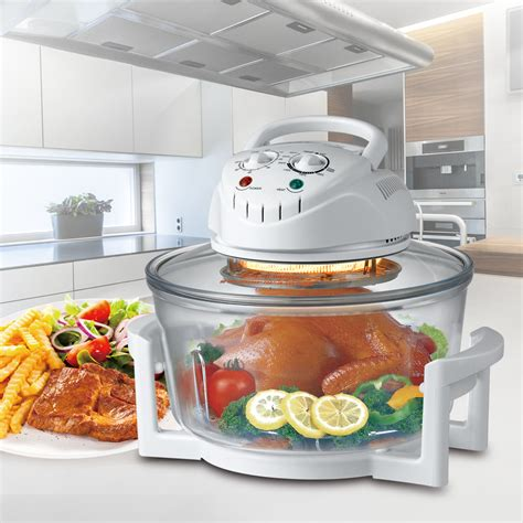 Halogen Countertop Oven by New Multicooker 12 Quart 1300w Countertop Convection